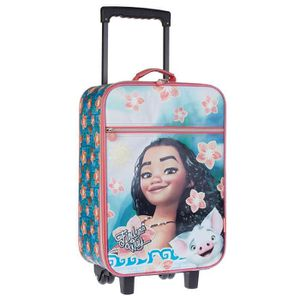VALISE - BAGAGE VAIANA Valise Trolley Soft 46,5cm YOUR WAY Vert et