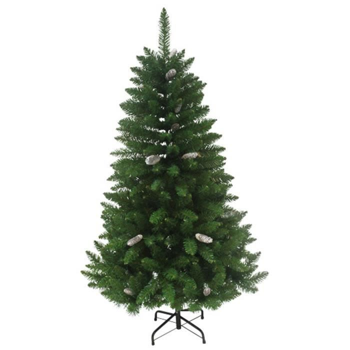 sapin de no l luxe igor 364 branches hauteur 150 cm vert. Black Bedroom Furniture Sets. Home Design Ideas