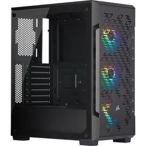 BOITIER PC  CORSAIR Boîtier PC iCUE 220T RGB Airflow - Moyen T