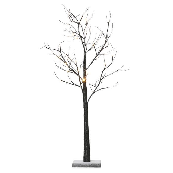 codico arbre de no l avec neige 48 led hauteur 120 cm. Black Bedroom Furniture Sets. Home Design Ideas
