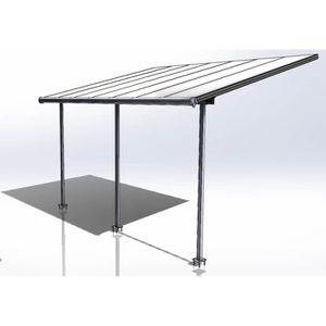 PERGOLA PALRAM Pergola extensible Elite 16,5 m² en alumini