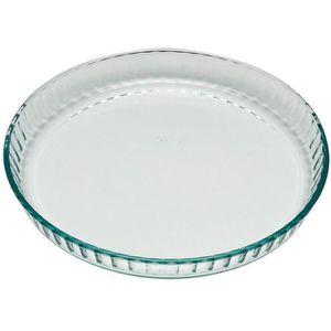 MOULE  PYREX Moule à tarte Classic Glassware 24 cm transp