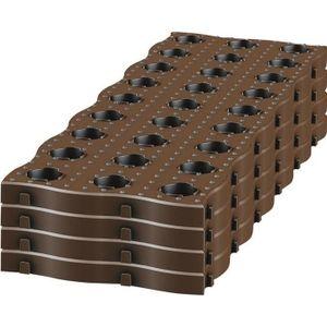 DALLAGE GARANTIA Set de 4 dalles de Potager Maxi 700 x 240