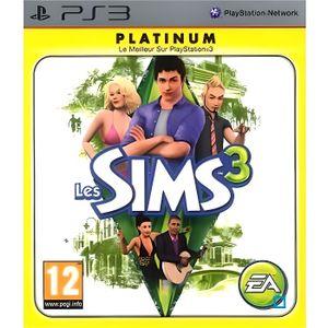 JEU PS3 LES SIMS 3 PLATINUM / Jeu console PS3