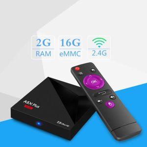 BOX MULTIMEDIA TV BOX Android A5X Plus Boîtier TV Réseau 4K Ultra