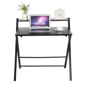 MEUBLE INFORMATIQUE Bureau informatique pliable table pour ordinateur