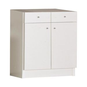 MEUBLE BAS COMMODE SDB meuble bas 2 portes 2 tiroirs - M KIT