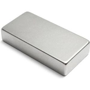 AIMANTS - MAGNETS 50mm x25mm x10mm N35 Bloc Aimants Neodyme Puissant