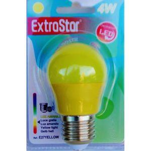 AMPOULE - LED Ampoule LED JAUNE E27 a visse basse consommation 4