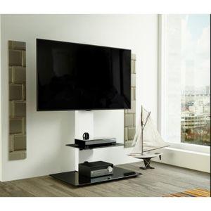 MEUBLE TV AVF Lesina Meuble TV Cantilever avec Support Intég