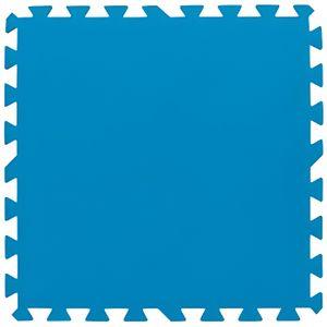 BÂCHE - COUVERTURE  Lot de 8 Tapis de protection pré formés 50x50cm
