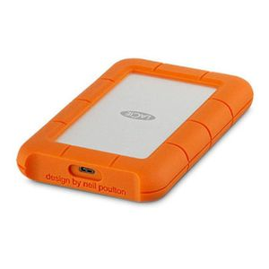 DD EXTERNE RECONDITIONNÉ LACIE Rugged USB-C - 2To - 2.5'' - USB 3.0, Thunde