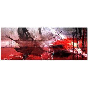 TABLEAU - TOILE Tableau Déco Peinture Art Abstrait Taches de Coule