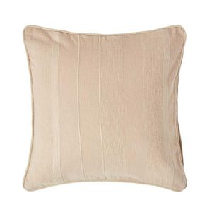 Housse coussin beige 60x60 achat vente housse coussin for Housse coussin 60x60