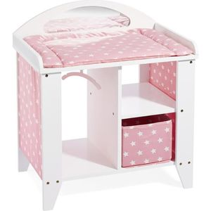 table a langer poupee achat vente jeux et jouets pas chers. Black Bedroom Furniture Sets. Home Design Ideas