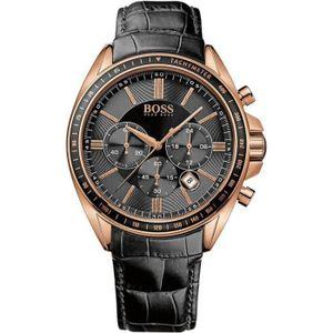 MONTRE Montre Homme Hugo Boss 1513092 Bracelet noir en...