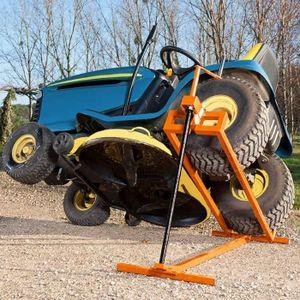 CRIC MANUPRO Cric Lève Tracteur Tondeuse 400 kg