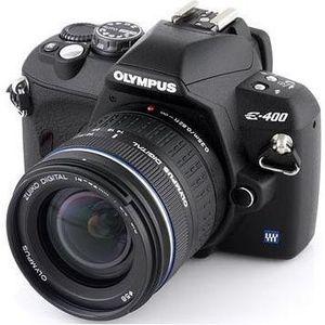 APPAREIL PHOTO RÉFLEX Olympus E-400 Objectif + ED 14-42 mm 13.5-5.6
