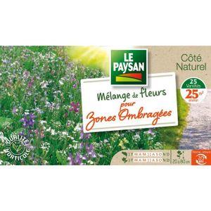 GRAINE - SEMENCE LE PAYSAN Mélange de fleurs pour zones ombragées -