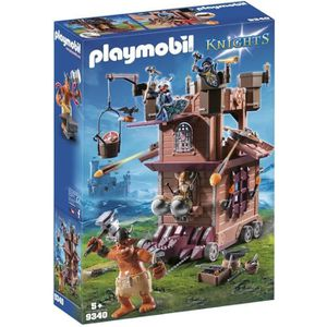 UNIVERS MINIATURE PLAYMOBIL 9340 - Knights - Tour d'Attaque Mobile d