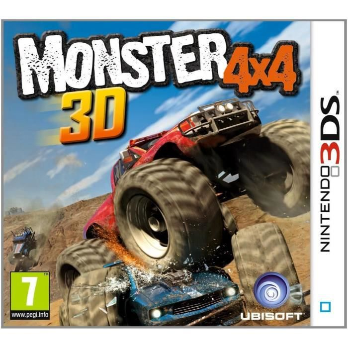 monster truck jeu console 3ds achat vente jeu 3ds monster truck jeu 3ds cdiscount. Black Bedroom Furniture Sets. Home Design Ideas