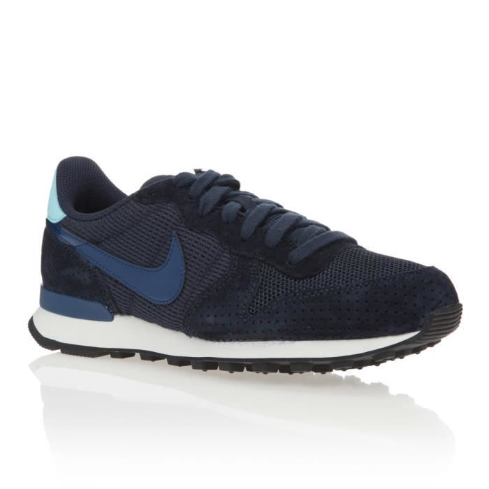 super quality size 7 lower price with NIKE Baskets WMNS Internationalist Chaussures Femme Bleu - Achat ...