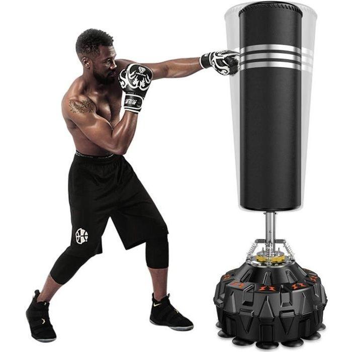 YOLEO Sac de Frappe Adulte Sac de Boxe sur Pied Punching Ball Adulte - 178 cm