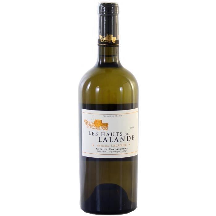 Vin Blanc IGP Cité de Carcassonne - Les Hauts de Lalande Domaine Lalande