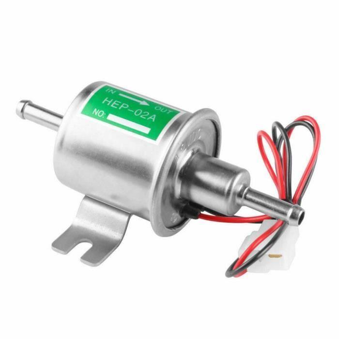 Pompe à carburant électrique basse pression 12V, avec fil de fixation, pour voiture, moto, essence, Diesel [D62F9A5]