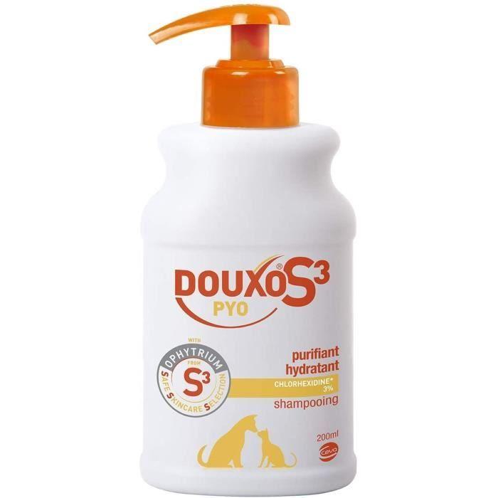 douxo s3 pyo shampooing fl pour chien 113
