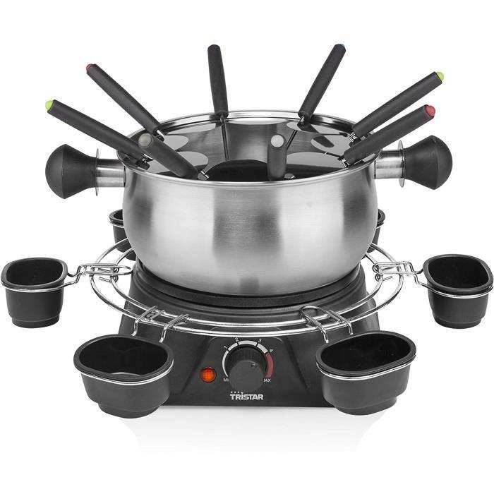 FONDUE ELECTRIQUE Tristar FO-1109 Appareil &agrave fondue familial, INOX14