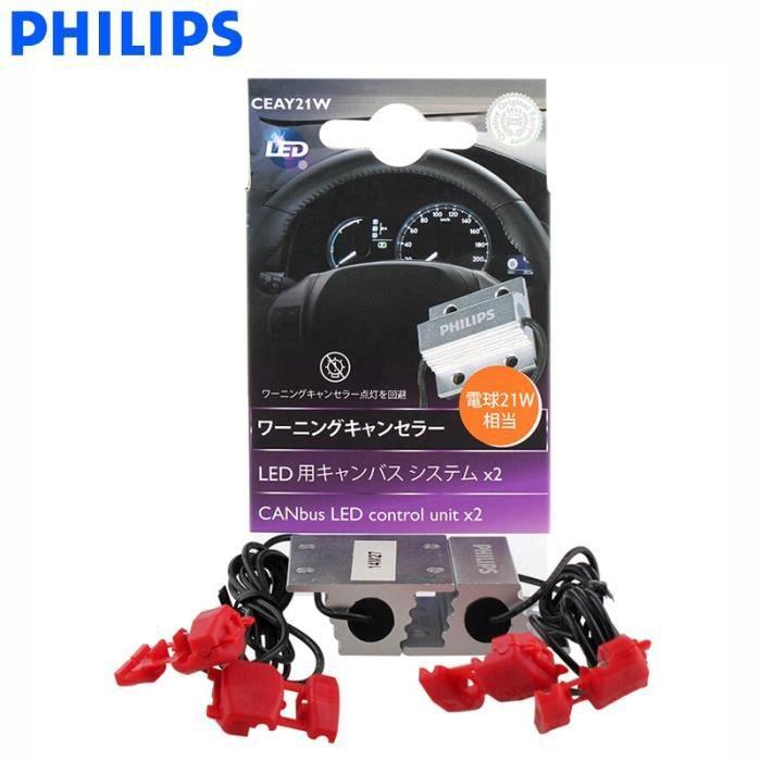Adaptateur Canbus LED Philips H4 H7 H8 H11 H16 9005 9006 9012 HB3 HB4 H1R2 T10 T20 S25, dé -T20 S25 21W 18957X2