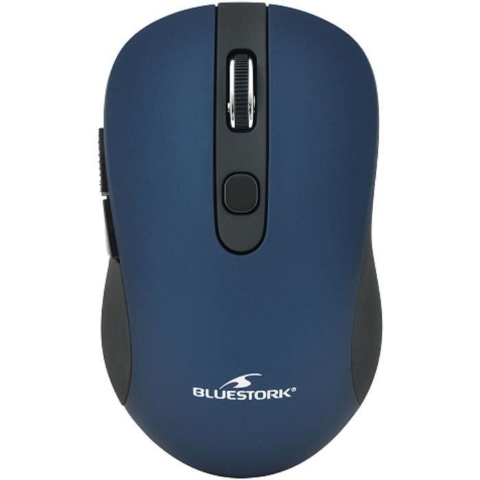Souris Sans Fil 2,4 Ghz 6 bouttons Bleu