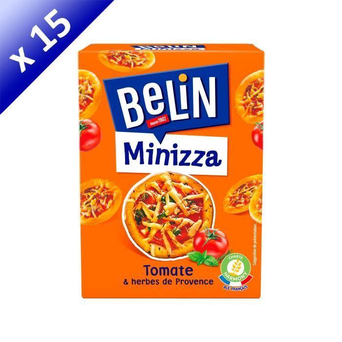 [LOT DE 15] BELIN Biscuits crakers Minizza - 85 g