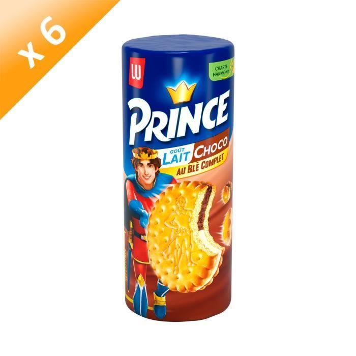 [LOT DE 6] Prince Lait Chocolat 300g