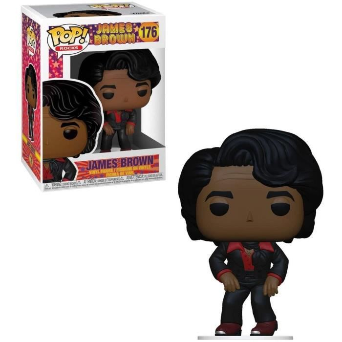 Figurine Funko Pop! Rocks: James Brown - James Brown