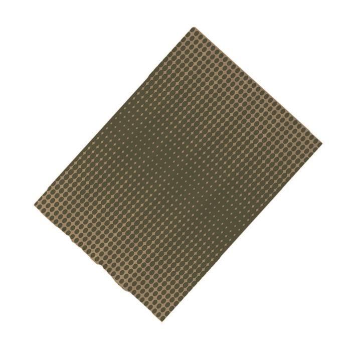 Rideau de Douche en Mosaïque Imperméable Résistant Moisissure Maison Accessoires en Mosaïque Polyester - 180X180cm S6