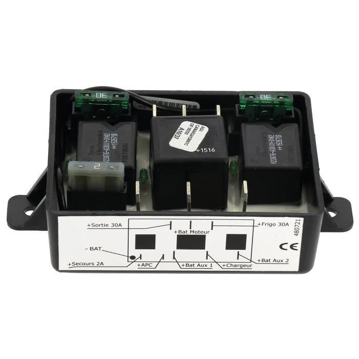 INOVTECH Coupleurs/Séparateurs coupleur 3 batteries PWM avec sécurité