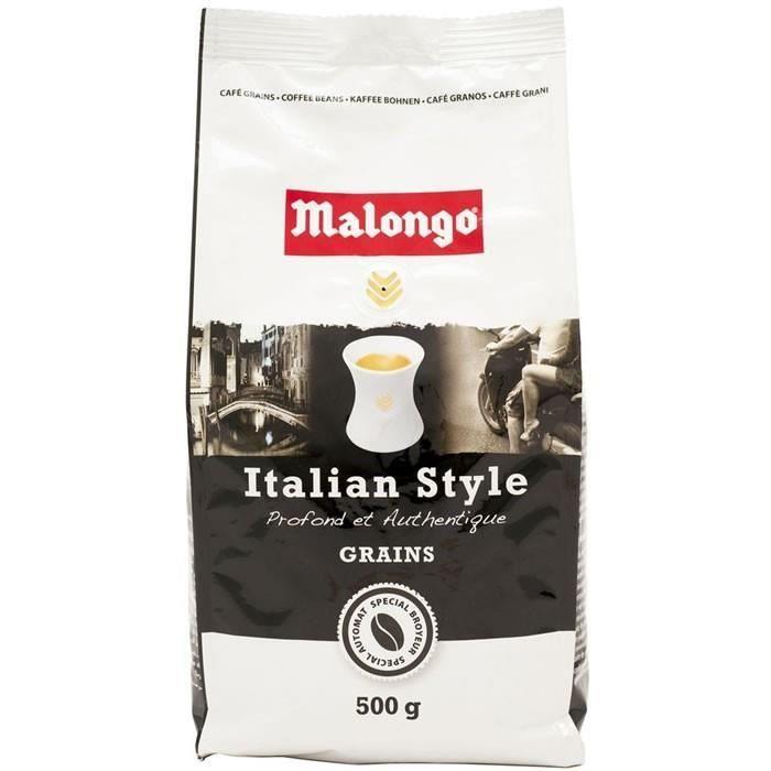 MALONGO Café grain Italian Style - 500 g