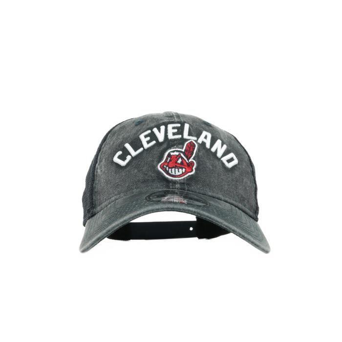 New Era - Casquette Cleveland Indians - Casquette - Noir taille unique