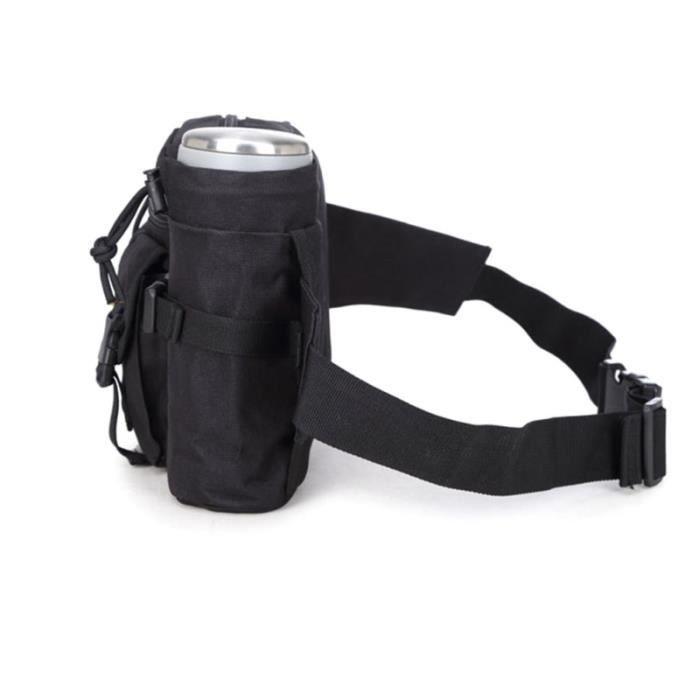 1Pc taille Pack Durable Fanny sac bouteille d'eau ceinture avec porte-bouteille pour la randonnée escalade en plein SAC DE SPORT