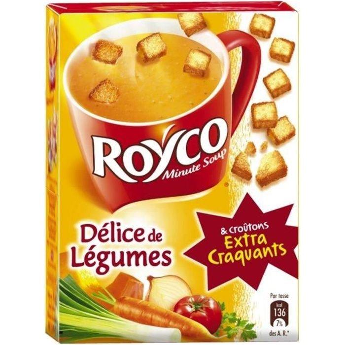 Royco legumes et croutons 3 x 20 cl Royco