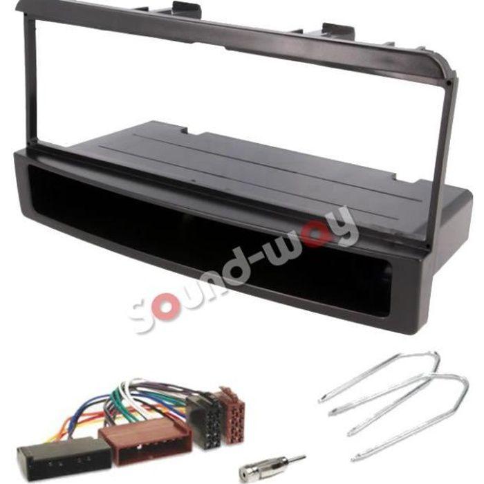 KIT Façade autoradio faisceau Ford Focus / Fiesta / Mondeo / escort / transit + adaptateurs iso et clés avec vide poche