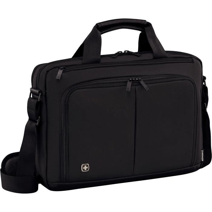 Wenger Source Mallettepour portable 16- avec tablette de poche 10.1- - Noir