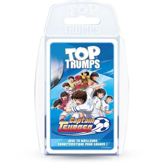 TOP TRUMPS CAPTAIN TSUBASA - Jeu de cartes