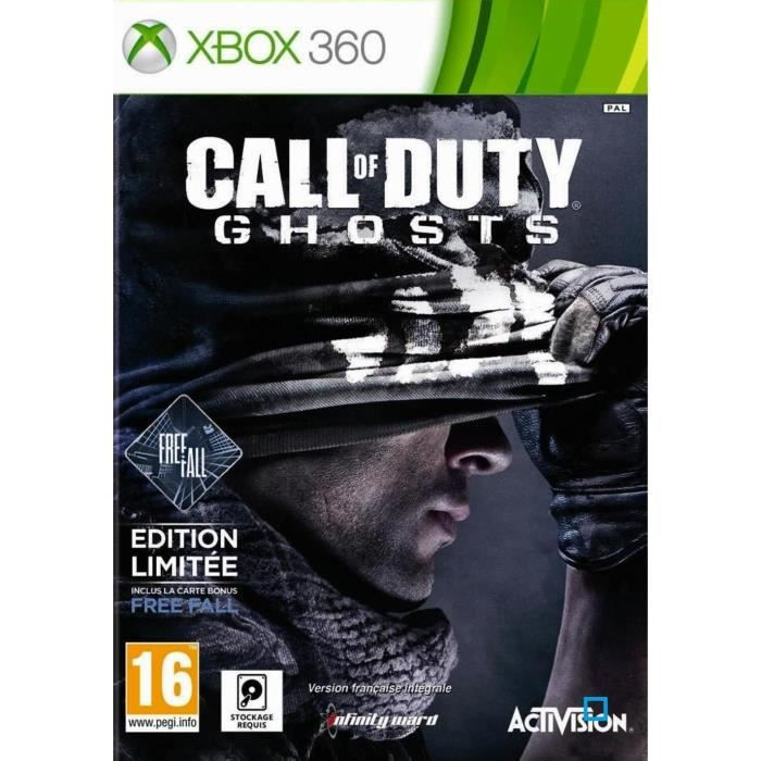 JEUX XBOX 360 Call Of Duty Ghosts Edition Limitée Free Fall
