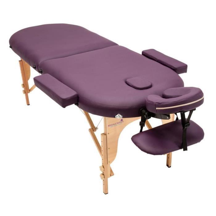 à Luxe Léger Table 2 Pro 5 Reiki Imperial® Pourpre Zones de 11 Table Massage Kg Orvis Massage oxCerdWB