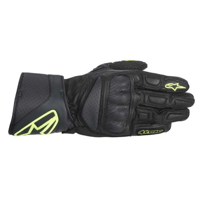 gants alpinestars sp 8 noir jaune fluo achat vente gants sous gants gants alpinestars sp 8. Black Bedroom Furniture Sets. Home Design Ideas
