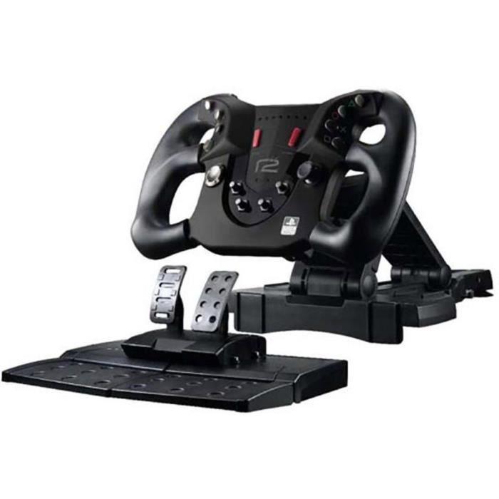 VOLANT PC Volant avec pédalier R2 steering wheel pour ps4