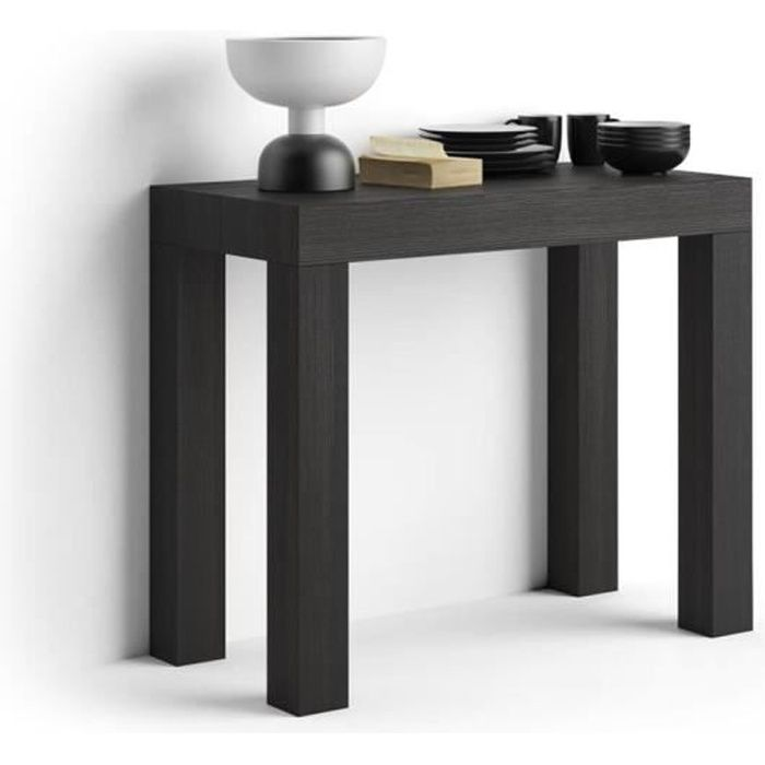 Table Console Extensible First Frêne Noir